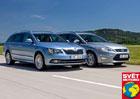 Ford Mondeo Kombi vs. Škoda Superb Combi - Ještě jedna šance