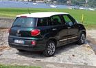 Fiat 500L Living a Trekking: První jízdní dojmy
