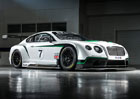 Bentley Continental GT3 má 600 koní a 1300 kg