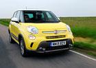 Fiat 500L Trekking na nových fotkách