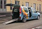 Renault Kangoo 1.6 16V pro hendikepované: Pomoc vozíčkářům