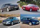 5 nejhezčích sedanů střední třídy