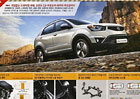 Facelift SsangYong Korando vyzrazen na brožuře