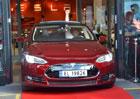 První Tesla Model S dorazil do Evropy, bude jezdit v Norsku