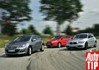 BMW 118i vs. Ford Focus 1.6 EcoBoost vs. Opel Astra 1.6 SIDI Turbo