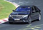 Spy video: Dvanáctiválcový Mercedes-Benz S 65 AMG řádí na Nürburgringu