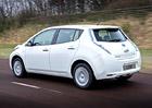 Nissan Leaf slaví úspěchy, v plánu je výroba dalších elektromobilů