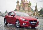 Mazdy 3 jsou v Moskvě, do cíle zbývá 2.500 km