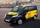 Nissan e-NV200 jako elektrické taxi pro Barcelonu