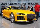 Audi Nanuk quattro a Sport quattro ve Frankfurtu: Prvn� dojmy a 2x video