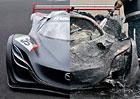 Toto už Top Gear přehnal! Při oslavě 20 let magazínu spálil vzácný koncept Mazdy! (+video)