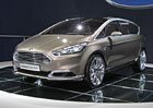Ford S-Max Concept ve Frankfurtu: Prvn� dojmy a video