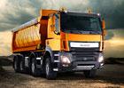 DAF představuje nová vozidla Euro 6 LF a CF Construction