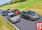 Škoda Octavia Combi vs. Ford Focus, Kia Cee'd, Opel Astra ST a VW Golf