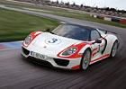 Porsche 918 Spyder ještě na Severní smyčce neřeklo poslední slovo
