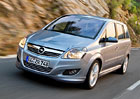 Opel Zafira Classic má nový motor: 1,8 l s výkonem 88 kW