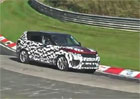 Video: Range Rover Sport RS zachycen na Nürburgringu