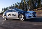 Finská policie jezdí stylově, dostala Mercedes CLS Shooting Brake.