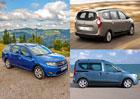 Dacia Logan MCV: O kolik je levnější než Lodgy a Dokker?
