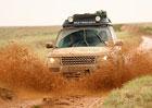 Range Rover Hybrid dojel z Anglie do Indie bez zaváhání