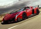 Lamborghini Veneno Roadster: První oficiální fotografie