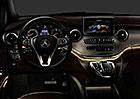 Mercedes-Benz V: První fotky interiéru nové generace Viana