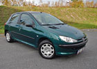 Ojet� Peugeot 206: �eny jej cht�j�