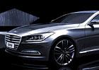 Hyundai Genesis: Nová generace na oficiálních počítačových kresbách