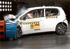 Volkswagen e-up!: Elektromobil obstál v crashtestu ADAC