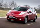 Elektrický Nissan Leaf v Norsku vede statistiku prodejů