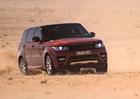 Range Rover Sport přejel arabskou poušť v rekordním čase