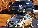 Fiat 500L vs. Opel Meriva