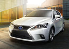 Lexus CT 200h: Modernizovaný model se představí v Kantonu