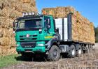 Tatra v Hannoveru vystavuje Agrotahač 6x6