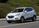 Vodíkový Hyundai Tuscon startuje v Americe