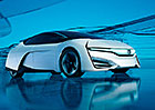 Honda FCEV: Blízká vodíková budoucnost
