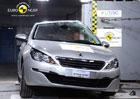 Euro NCAP 2013: Peugeot 308 – Pět hvězd i pro druhou generaci
