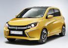 Suzuki A:Wind: Koncept miniauta se představil v Thajsku