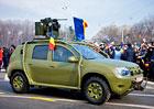 Dacia Duster Army má pancéřování a kulomet
