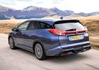 Honda Civic Tourer: 624 litrů za 487.900 Kč
