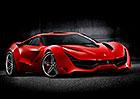 Ferrari CascoRosso: Nástupce Berlinetty očima nezávislého designéra
