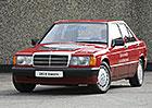 Mercedes W201/W202: Baby-Benz a první C jezdily i na elektřinu
