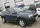 Dacia Duster Pick-up uveze až 400 kg nákladu