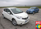 Nissan Note 1.5 dCi vs. �koda Rapid Spaceback 1.6 TDI