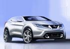 Nissan Qashqai možná i jako kupé, s hybridem se nepočítá