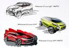 Mitsubishi ukáže v Ženevě Evropanům tři hybridní koncepty