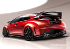 Honda Civic Type R Concept: Hardcore hot-hatch se představí v Ženevě