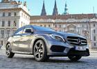 Mercedes-Benz GLA dorazil do Prahy