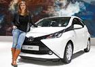 Eva Samková se v Ženevě stala majitelkou Toyoty Aygo