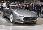 Maserati Alfieri: Elegantní kupé je blízko sériové výrobě